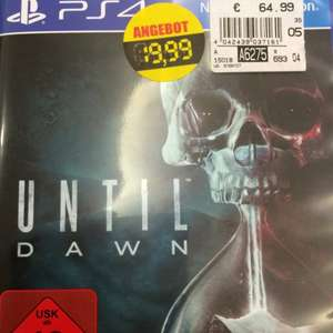 Kaufland Eiche Until Dawn PS4