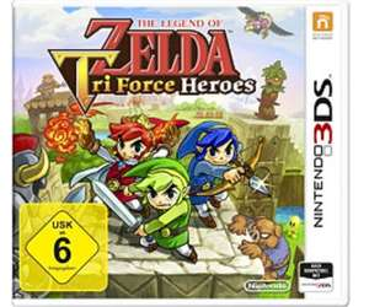 [OTTO] Zelda: Triforce Heroes 3DS sowie diverse andere Spiele mit 15€ Neukundenrabatt