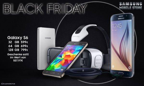 [Samsung Mobile Store Frankfurt + Berlin] S6 kaufen, Geschenke im Wert von 507,97€