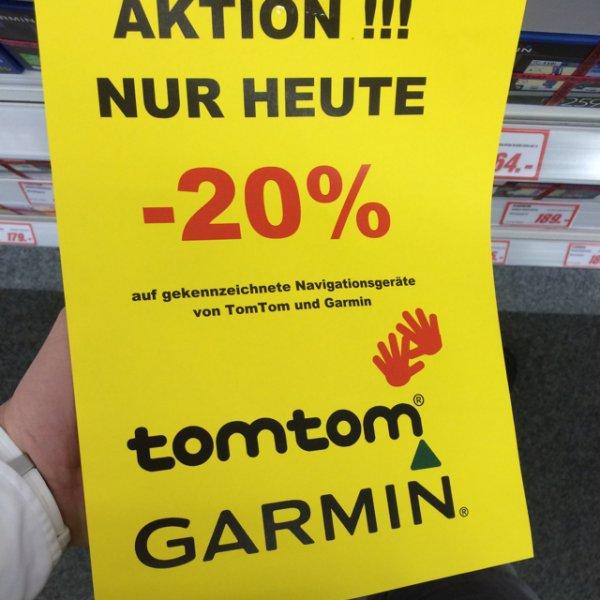 MediaMarkt Viernheim Garmin/TomTom 20% Aktion