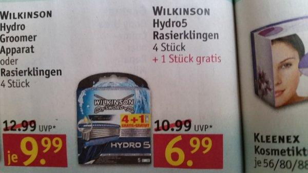 [Rossmann] Wilkinson 5 Hydro5  Rasierklingen