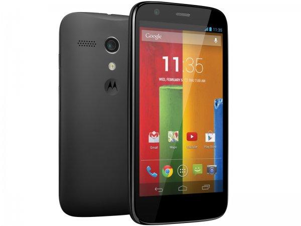 Motorola Moto G2 schwarz [Amazon Prime]