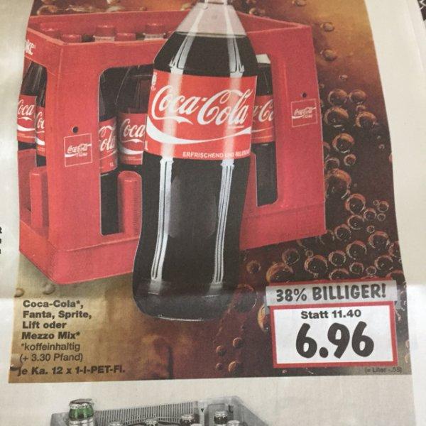 Coca-Cola Kiste -Kaufland BW/BY