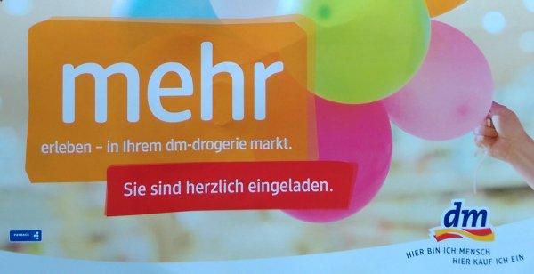 [Lokal Göttingen] 10% Rabatt bei dm-Neueröffnung vom 02.12 -  09.12