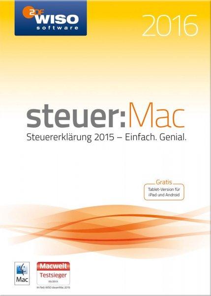 [Conrad.de] WISO steuer:Mac 2016 (für Steuerjahr 2015) CD-Version für 24,44 € (via NL-Gutschein)