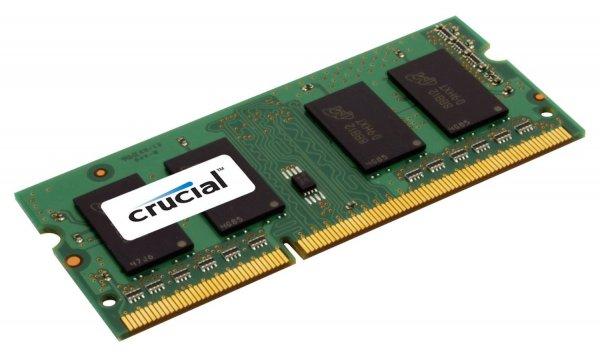 Crucial Arbeitsspeicher 8GB (1600MHz, SODIMM) DDR3-RAM (Amazon Blitzangebot)