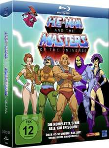 [Amazon Cyber Monday Prime]  He-Man and the Masters of the Universe - Season 1 & 2  [Blu-ray] für 29,97 EUR