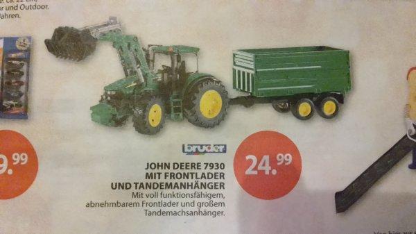 [Müller] BRUDER 03055 Traktor John Deere 7930 mit Frontlader