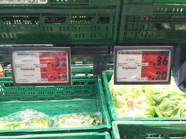 [Lokal] Kaufland Frankfurt Obst und Gemüse ausverkauf