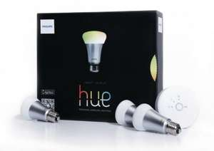[Amazon Cyber Monday] Philips hue - LED personal wireless lighting - 3 x 9W A60 E27 - Starter Kit inkl. hue Bridge| PVG: 183,50€
