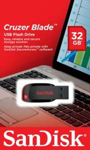 [Amazon.de-Plusprodukt] SanDisk Cruzer Blade USB-Flash-Laufwerk 32GB, USB 2.0