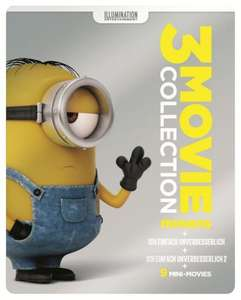[Müller Onlineshop] Minions 3 Movie Collection (exklusives Müller Steelbook) (Blu-ray)