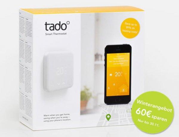 Tado - Smart Home intelligente Heizungssteuerung 4,99 € mtl. (statt 9,99 €)