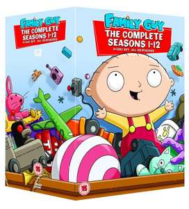 Family Guy - Season 1-12 [DVD] mit O-Ton inkl.Vsk für ca. 33 € > [amazon.uk]