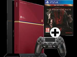 [AT auch Versand nach D] Media Markt - SONY PlayStation 4 Limited Edition Bundle 500GB inkl. Metal Gear Solid V - The Phantom Pain (CUH-1216) inkl. PS TV gratis dazu!