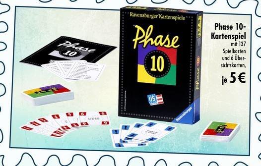 TEDi Phase 10 Kartenspiel für 5€