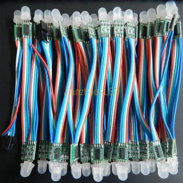 [China] 50x WS2801 LEDs für 23,59 (für Ambilight Nachbau aka Adalight)