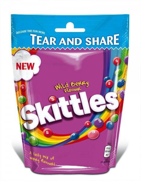 Skittles Wild Berry 7,28€/kg