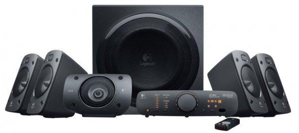 [Amazon Blitzangebot]  Logitech Z906 5.1 Lautsprechersystem mit THX ~57€ billiger ...