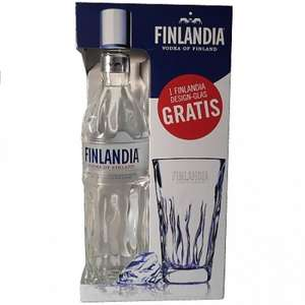 Finlandia Vodka mit Finlandia Glas im Vmarkt [Lokal BW & Bayern] 9.99€