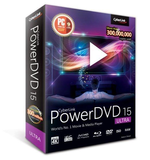 PowerDVD 15 Ultra bei amazon.co.uk für 48,06€ (nächster Preis 75,26€)