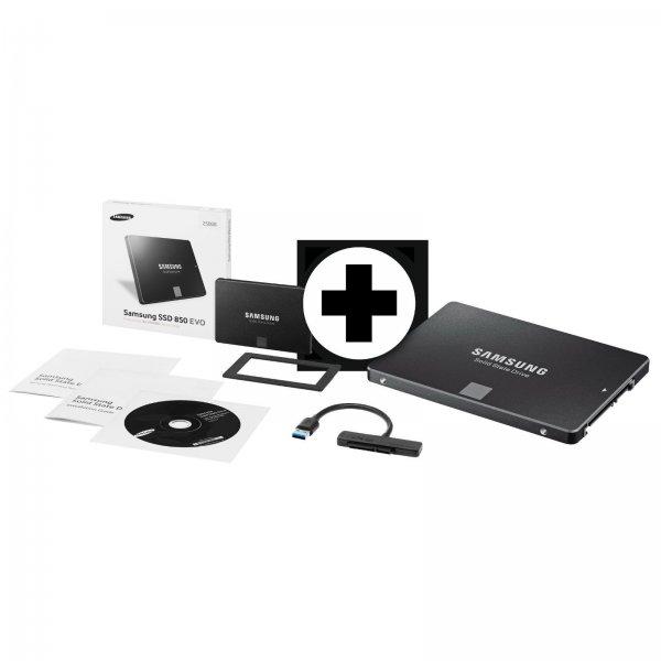 Mediamarkt über ebay - Samsung EVO 850 mit 250GB mit USB-3.0-Anschluss