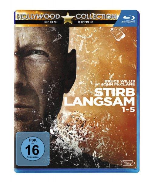Stirb Langsam 1-5 Blu Ray für 19,97€ Amazon Blitzangebot