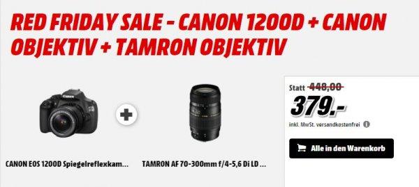CANON 1200D + CANON OBJEKTIV + TAMRON OBJEKTIV