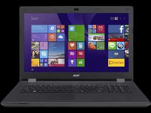 "[MediaMarkt Redsale] Acer ES1 17,3"" HD+ LED - Pentium Quad-Core N3700 - 4GB - 1TB HDD @Cyber Monday"