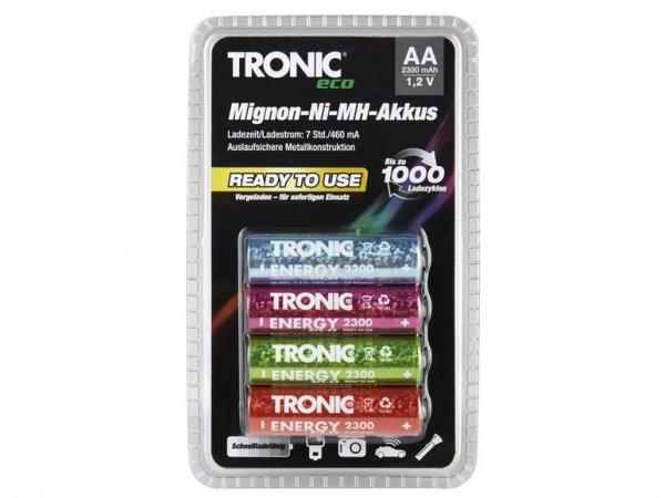 LIDL: ReadyToUse NiMH Akku Tronic Eco 4x AA, 4x AAA für je 3,99€ (Eneloop Clone) ab 10.12.2015