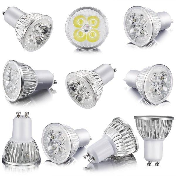 [Amazon] 10 x GU10 LED Lampen von zookki