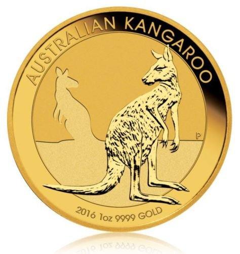 ebay [proaurum] 1 Unze Goldmünze Nugget/Känguru
