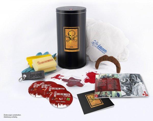 Der Tatortreiniger - Staffel 1 - 4 - Böse Dose [Blu-ray] (Sonderedition) für 34,97€ (statt 59€)@ amazon.de