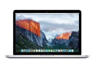 "Apple MacBook Pro 13"" 2,7 GHz Retina, 128 GB SSD, 8 GB RAM  Bei ebay 1099"