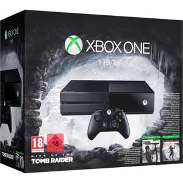 Xbox One 1TB + Rise of the Tomb Raider + Tomb Raider: Definitive Edition für 333€ @ eBay Media Markt + ggf. Payback (7,5% Rabatt)!
