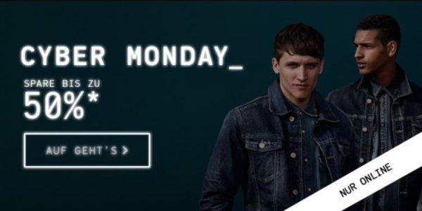 Sale bei Jack & Jones - bis zu 50% reduziert @Cyber Monday