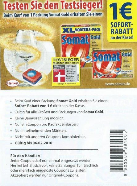 (Rossmann) Somat für 5,39 € statt 13,69€