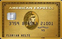 AMEX Gold Kreditkarte mit erhöhter KWK Prämie bis zu 200 Euro