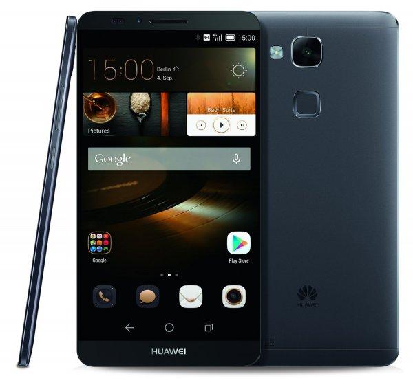 "Huawei Mate 7 - 6"" Full HD, LTE Cat. 6, Octa-Core, 2GB Ram, 16GB Speicher, Vollmetallgehäuse, 4.100 mAh Akku, Fingerabdruck-Sensor für 310,72€ bei Amazon.es Cyber Monday"