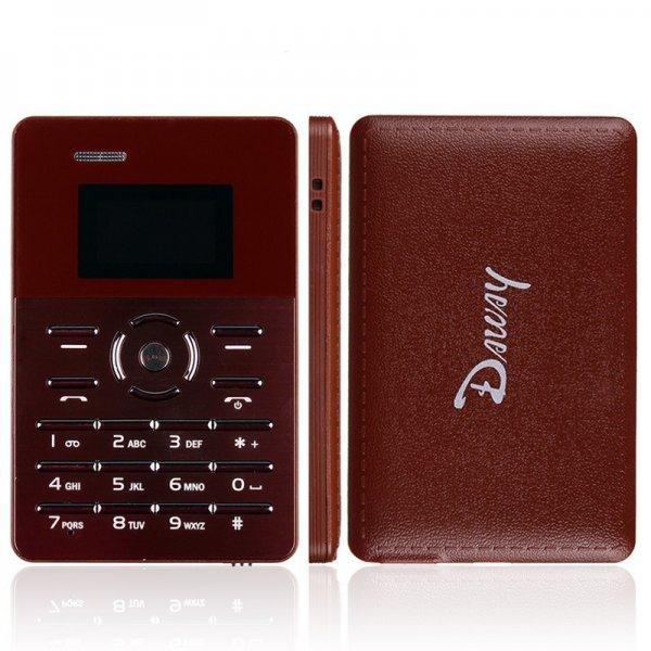 """Daway Chocolate """"Kreditkarten-Telefon"""" für 10€ mit Versand aus Deutschland @china-handy.cc"""