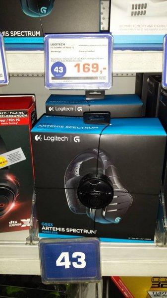 Logitech G933 Artemis Spectrum wireless 7.1 Surround Sound Gaming Headset (Lokal)