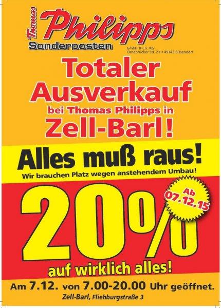 AUSVERKAUF Thomas Philipps Zell Mosel