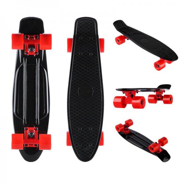 22 Zoll Mini Cruiser Skateboard wie Penny board für 9,99 Euro inkl. Versand