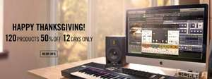 Native Instruments Software 50% reduziert (z.B. Traktor Pro 2)