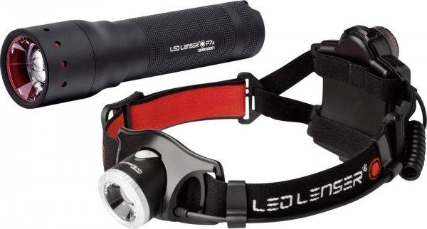 Lenser P7.2 + Kopflampe H7.2 - TOP