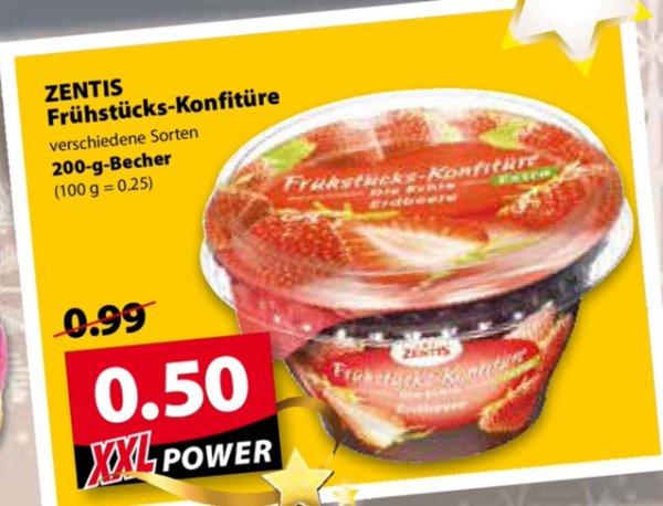 [Oldenburg] Famila : Zentis Frühstücks Konfitüre 0,50€
