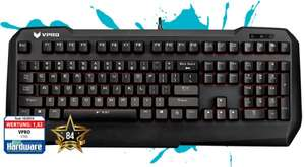 Notebooksbilliger.de:Rapoo VPRO V700 mechanische Gaming Tastatur USB, Nummernblock, Handballenauflage, programmierbare Tasten für 37,-€ Versandkostenfrei