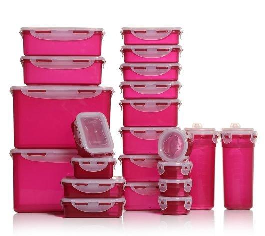 [QVC] LOCK&LOCK 22 Frischhaltedosen für 29,76€ (Neukunde 24,76€) VSK-frei (wieder da).