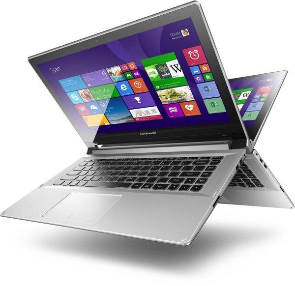 "Lenovo Flex 2-14 Convertible Notebook (14"" FHD IPS Touchscreen, Core i5-4210U, 2,7GHz, 8GB Ram, 256GB SSD, NVIDIA GeForce 840M, Win8.1) für 549€ bei Amazon.de"