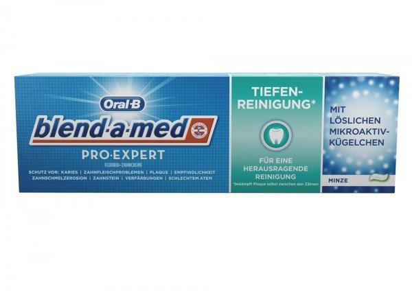 Oral-B blend-a-med Pro-Expert Zahnpasta / Zahncreme Tiefenreinigung mit 1,04€ Gewinn (nur bei Globus!)